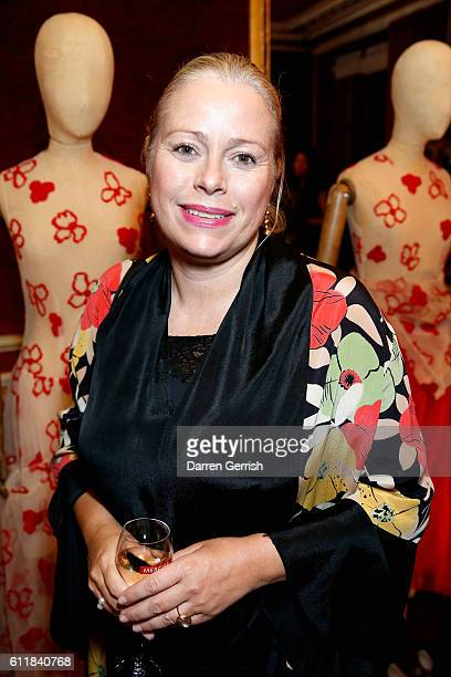 Kerstin Schneider attends the MATCHESFASHIONCOM x Simone Rocha dinner at Restaurant Laperouse on October 1 2016 in Paris France