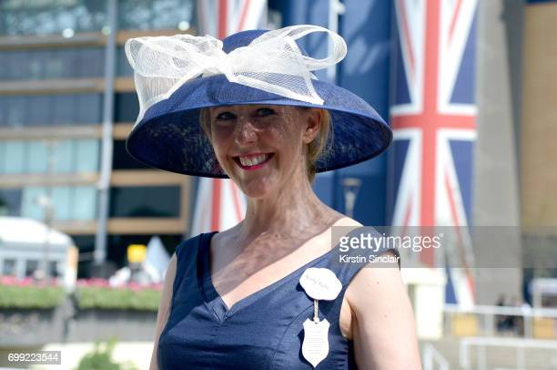 Kersty Blesto attends day 2 of Royal Ascot at Ascot Racecourse on June 21 2017 in Ascot England