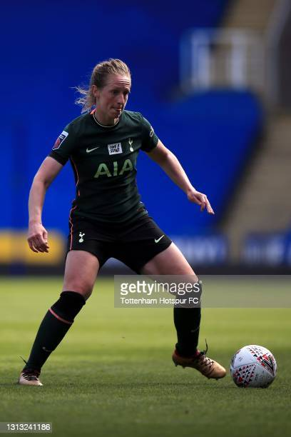 Kerys Harrop of Tottenham Hotspur during the Vitality Women's FA Cup Fourth Round match between Reading Women and Tottenham Hotspur Women at Madejski...