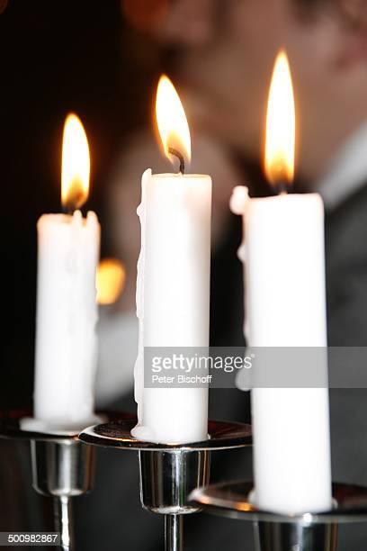 Kerzenschein beim Vier Gänge Menü Premiere 'Witzigmann Roncalli Bajazzo' Frankfurt Deutschland PNr 1595/2006 DinnerShowProjekt CircusRoncalli Kerze...