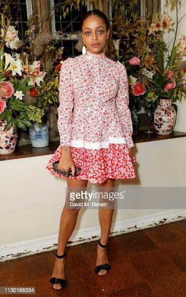Kesewa Aboah attends the FrancoisHenri Pinault and Sarah Burton dinner In celebration of the Alexander McQueen Old Bond Street Flagship Store on...