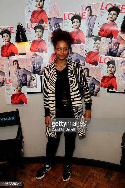 Kesewa Aboah attends the #MOVINGLOVE screening hosted by Derek Blasberg Katie Grand at Screen on the Green on July 15 2019 in London England