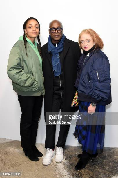 Kesewa Aboah Charles Aboah and Camilla Lowther attend the Gurls Talk x Barbie event hosted by Adwoa Aboah celebrating their collaboration at Dover...