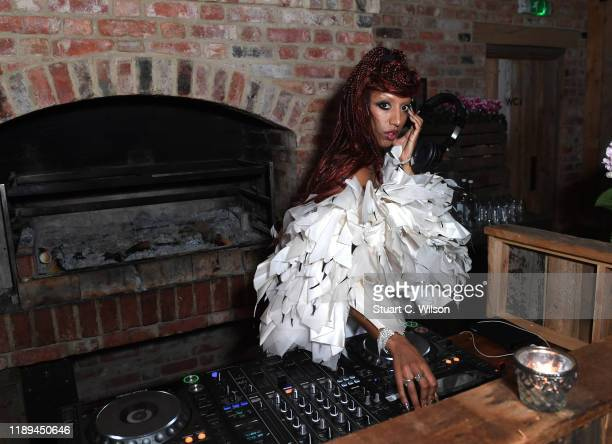 Kesh at the gala dinner in honour of Edward Enninful winner of the Global VOICES Award 2019 during #BoFVOICES on November 22 2019 in Oxfordshire...