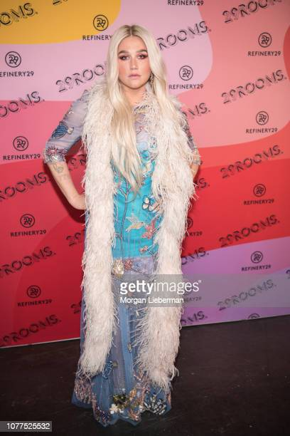 Kesha arrives at Refinery29's 29Rooms at The Reef on December 4, 2018 in Los Angeles, California.