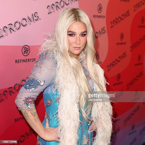 Kesha attends Refinery29 Presents 29Rooms Los Angeles 2018 Expand Your Reality at The Reef on December 4 2018 in Los Angeles California