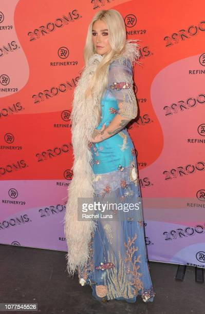 Kesha attends Refinery29's 29Rooms Los Angeles 2018 Expand Your Reality at The Reef on December 04 2018 in Los Angeles California