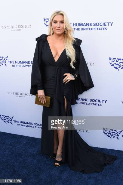 Kesha attends The Humane Society of the United States Los Angeles Gala 2019 at Paramount Studios on May 04 2019 in Hollywood California