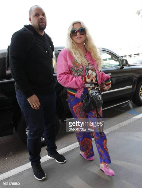 Kesha is seen on May 5 2018 in Los Angeles CA