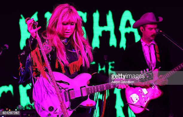 Kesha Performs at Best Buddies Miami Gala 2016 Rock Legends on November 18 2016 in Miami Florida