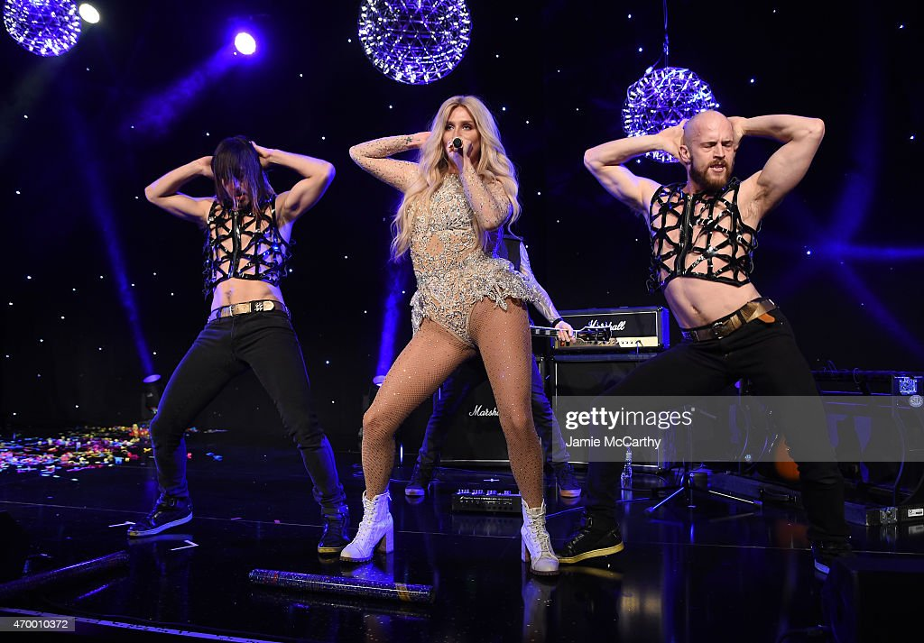 Kesha performs at the 9th Annual Delete Blood Cancer Gala on April 16, 2015 in New York City.