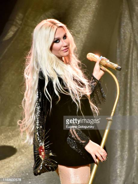 Kesha performs at The Greenwich International Film Festival Epic Anniversary Party Featuring Kesha And Jessie's Girl at The Capitol Theatre on June...