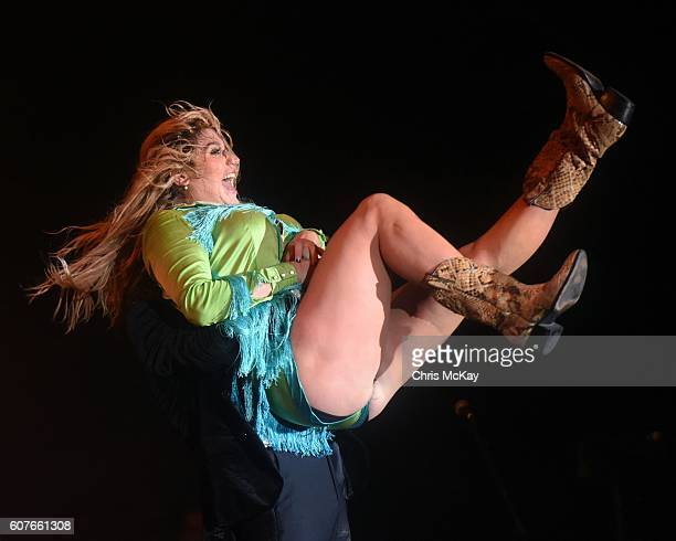 Kesha performs during the Music Midtown Festival at Piedmont Park on September 18 2016 in Atlanta Georgia