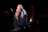 london england kesha performs stage during