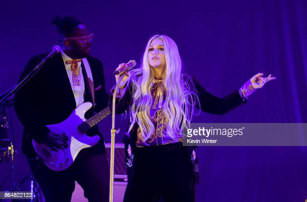Kesha performs onstage at CBS RADIO's We Can Survive 2017 at The Hollywood Bowl on October 21 2017 in Los Angeles California