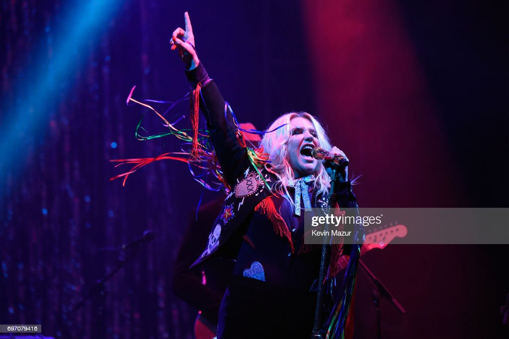 Kesha performs onstage during the 2017 Firefly Music Festival on June 17, 2017 in Dover, Delaware.