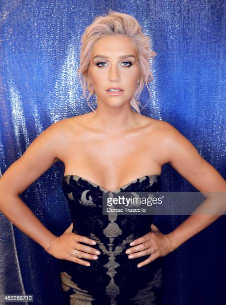 Kesha poses for a portrait at the 2014 Billboard Music Awards on May 18 2014 in Las Vegas Nevada