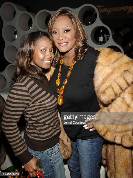 Keshia Knight Pulliam and Patti LaBelle during Tanqueray Presents Mike Epps On the Edge Comedy Tour KickOff Party at The Newspace in New York City...