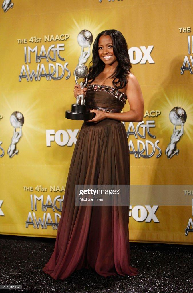 41st NAACP Image Awards - Press Room : News Photo