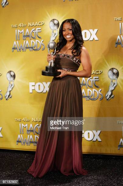 Keshia Knight Pulliam attends the 41st NAACP Image Awards Press Room held at The Shrine Auditorium on February 26 2010 in Los Angeles California