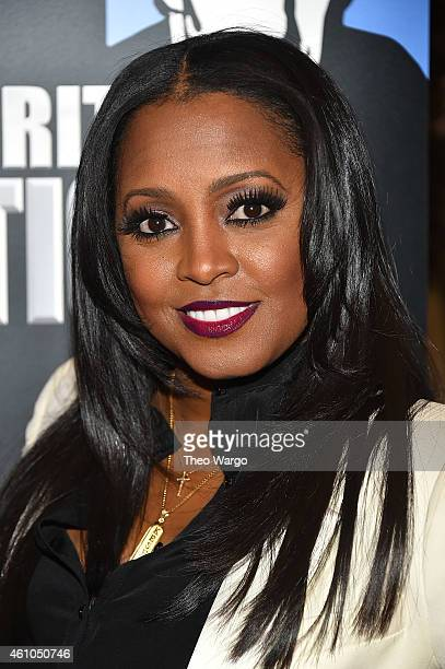 Keshia Knight Pulliam attends the Celebrity Apprentice Red Carpet Event at Trump Tower on January 5 2015 in New York City