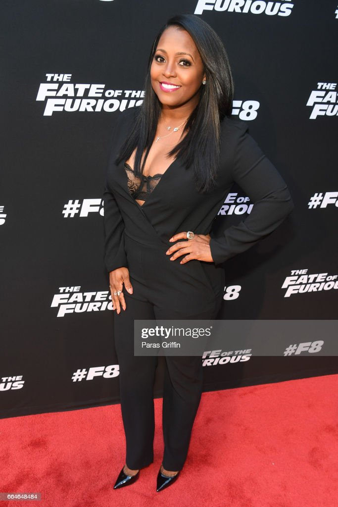 THE FATE OF THE FURIOUS Atlanta Red Carpet Screening and After Party Hosted by Ludacris : Foto jornalística