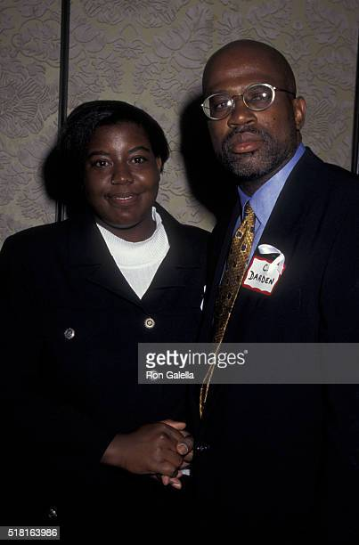Keshia Thomas and Christopher Darden attend CORE Harmony Awards Dinner on August 19 1996 at the Sheraton Hotel in New York City