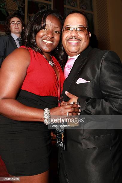 Keshia Walker and Von McDaniel attend 10th Annual Kenny The Jet Smith NBA AllStar Bash hosted by Mary J Blige on February 24 2012 in Orlando Florida