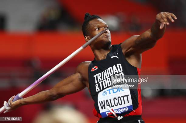 Keshorn Walcott of Trinidad and Tobago competes in the Men's Javelin Throw qualification during day nine of 17th IAAF World Athletics Championships...