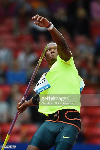 Keshorn Walcott of Trinidad and Tobago in action in the Men's Javelin during the Sainsbury's Glasgow Grand Prix - Diamond League Day 2 at Hampden...