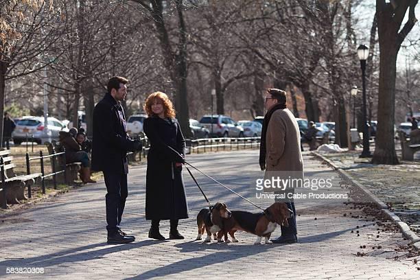 PEOPLE Kessler Epstein Episode 202 Pictured Billy Eichner as Billy Epstein Julie Klausner as Julie Kessler Nathan Lane as himself