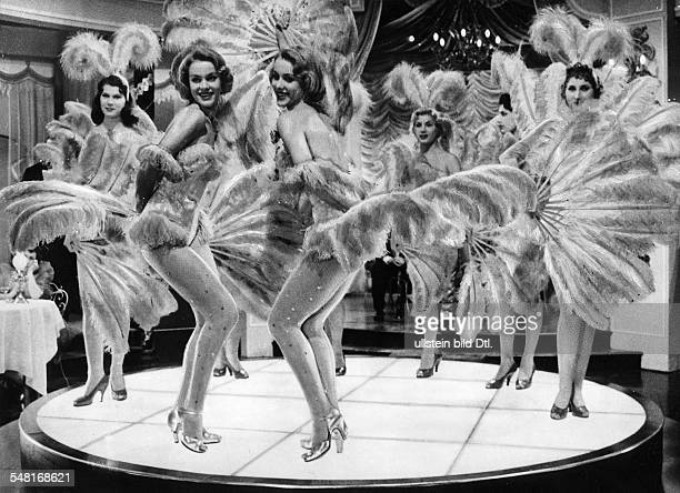 KesslerTwins Actresses Dancers Germany * Scene from the movie 'The Ambassador's Daughter'' Directed by Norman Krasna USA 1956 Produced by Norman...