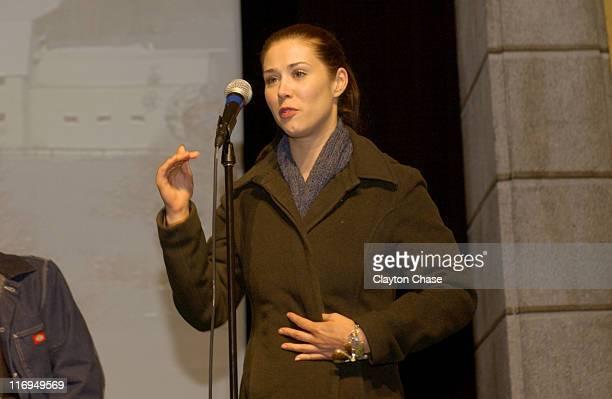 Kestie Morassi during 2005 Sundance Film Festival 'Wolf Creek' Premiere at Egyptian Theatre in Park City Utah United States
