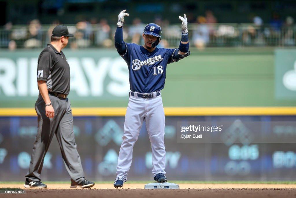 Atlanta Braves v Milwaukee Brewers : News Photo