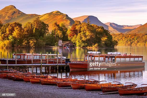 keswick, lake district, cumbria, england - keswick stock pictures, royalty-free photos & images