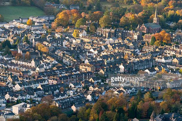 keswick, lake district national park - cumbria stock pictures, royalty-free photos & images