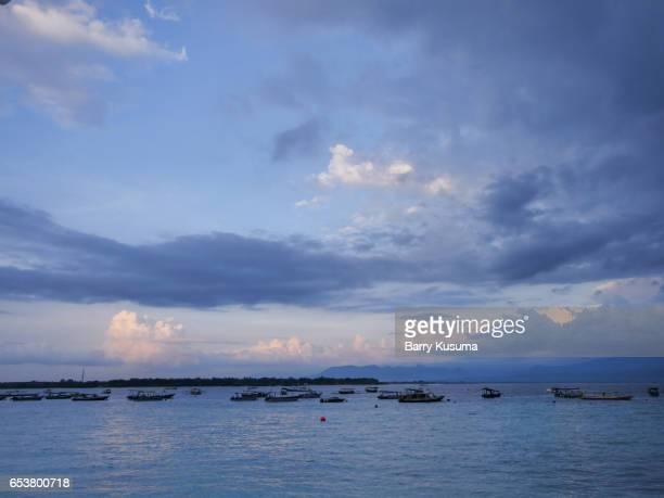 ketapang banyuwangi beach. - east java province stock photos and pictures
