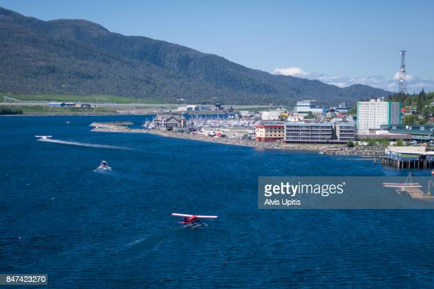Ketchikan Alaska float plane port