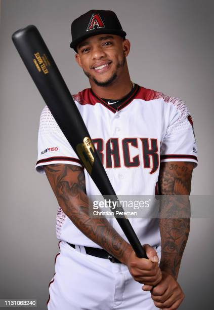 Ketel Marte of the Arizona Diamondbacks poses for a portrait during photo day at Salt River Fields at Talking Stick on February 20 2019 in Scottsdale...