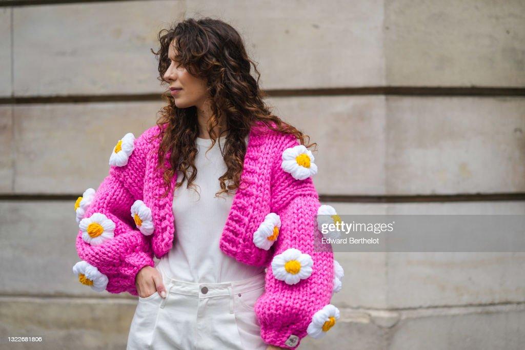 Fashion Photo Session In Paris - June 2021 : News Photo