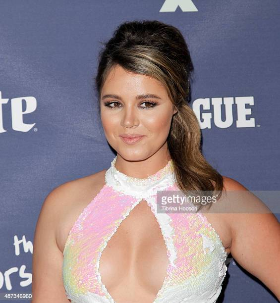 Kether Donohue attends the premiere of 'The League' and 'You're The Worst' at Regency Bruin Theater on September 8 2015 in Westwood California