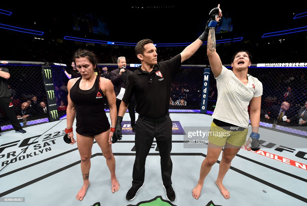 UFC 222: Zingano v Vieira : News Photo