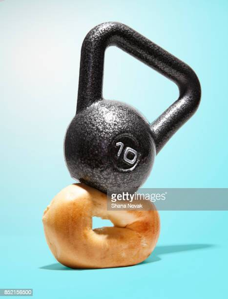 Kettle Bell Smashing a Bagel