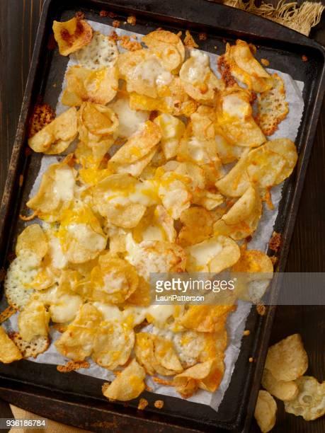 Waterkoker gekookt aardappelchips Nachos