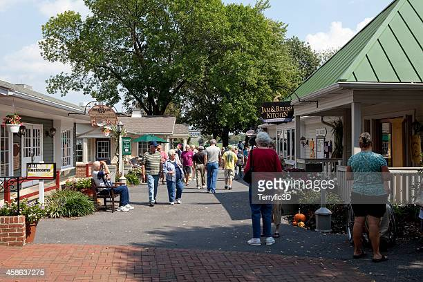 kettle kitchen village in bird-in-hand, pa - terryfic3d stock pictures, royalty-free photos & images