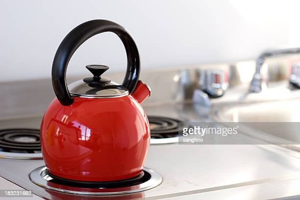 Kettle on Stovetop