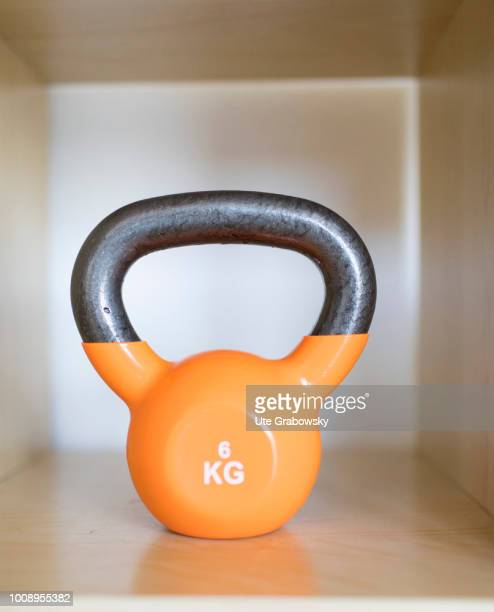 Kettlebell in a physiotherapy practice on May 25 2018 in BONN GERMANY