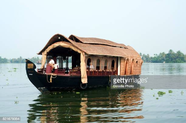 Kettuvallam houseboat, Kerala, India