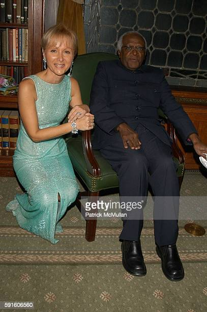Ketty PucciSisti Maisonrouge and Archbishop Desmond Tutu attend Archbishop Desmond Tutu honored at Action Against Hunger World Food Day Gala at...