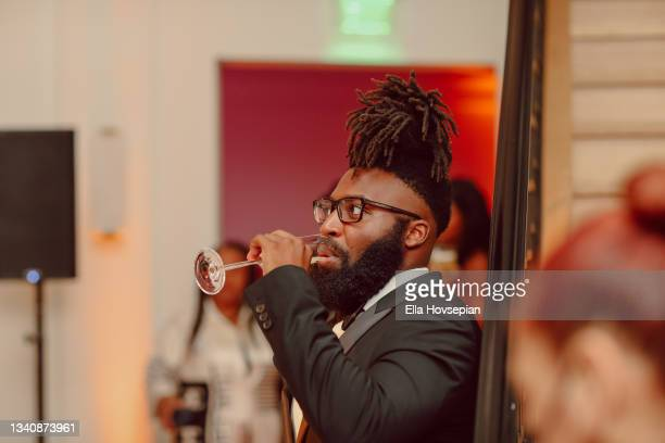 Ketu Ikediuba attends The One And Only, Dick Gregory, Album Release Event on September 16, 2021 in Burbank, California.